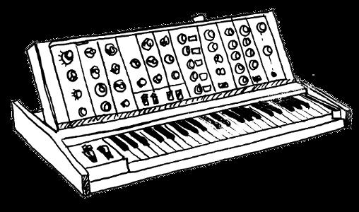 Ein Synthesizer