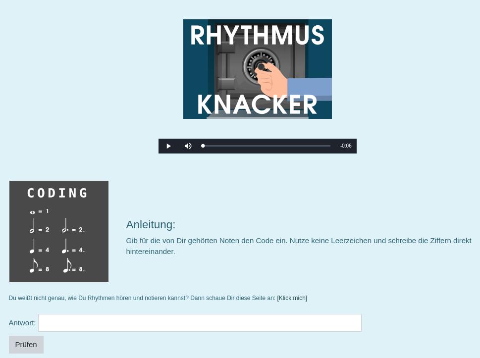 Rhythmus-Knacker